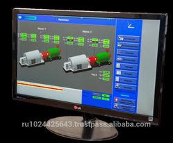 On-line monitoring system for rotating equipment SADKO