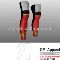 Custom compression leg sleeves compression custom cycling leg warmer