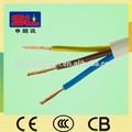 atacado cabo elétrico 3 núcleo de fio de cobre flexível