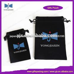 promotion custom velvet gift bag