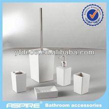 handpainted ceramic bath set