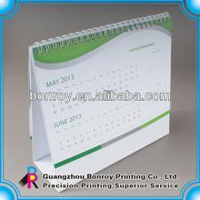 Mini size standing table calendars