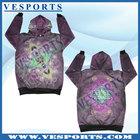 custom two tone hoodies sublimation printing