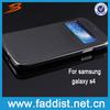 Fashion PU leather case for samsung galaxy s 4 flip case