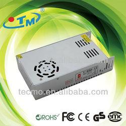 DC Constant Voltage 12V 24V 48V 500W Switch Mode 12v dc power supply with CE RoHS FCC