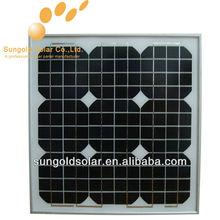 Sungold high efficiency high watt solar panels