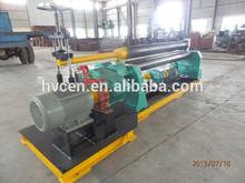 three-roll plate rolling machine W11F-4*2000/ steel plate roll forming machine/3 roller asymmetrical plate rolling machine