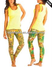 Wholesale Cool Ladies fitness Womens Tight Nylon Spandex Yoga Sport Wear