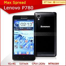 Hot 5.0'' lenovo p780 dual sim 8mp camera android 3g wifi gps mobile phone