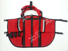 Durable Fashion Multi-functional Red Dog Carry Bag