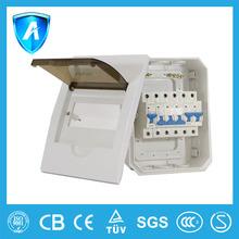 TUV Certified Flush Mounting Circuit Breaker Plastic Box