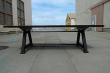 outdoor park bench legs,wooden bench with metal legs