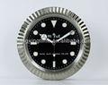 Ronda 34cm reloj reloj de pared de la máquina con el ce& certificación de rohs