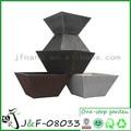 artigosdejardinagem retangular de plástico vasos de flores