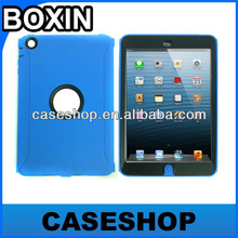 Robot Stylish 3-piece Hard Shock Proof Case Cover For iPad Mini with Waterproof membrane