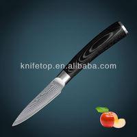 "Japanese VG10 Damascus 3.5"" paring kitchen knife"