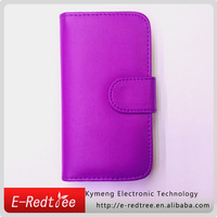 Wallet cover PU leather card-slot mobile phone case for iphone 6