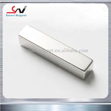 Cheap stock sintered ndfeb powerful permanent neodymium block magnet