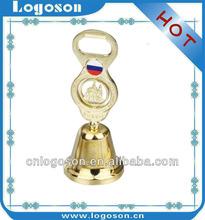 home decor gift custom made russian souvenirs metal bottle opener dinner bell