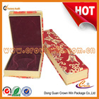 2014 New Design classic beauty jewelry box,red velvet jewelry box