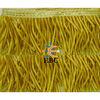 Gold metallic bullion fringe, gold fringe curtain, fringe and bullion trim