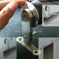 6.5 ft montado en la pared deslizante puerta de madera, Completo Slidng puerta sistema de Hardware