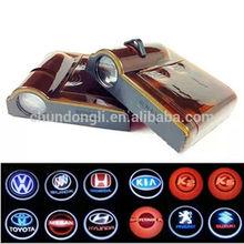 Hot selling wireless led car door logo shadow projector light