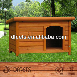 Hot Sale! Wood Dog House With Foot Cover DFD3007