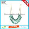 N2112-G-TRQ Wholesale Fashion Necklace Jewelry 2014