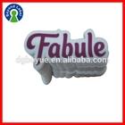 Fancy Custom Logo Printed Waterproof Self Adhesive Promotional Die Cut Stickers
