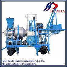 8t/h to 30t/h twin durm mobile asphalt plant