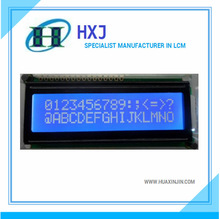 lcd 16x2 for auto automotive LCD Module with yellow-green/blue mode HSM1602C