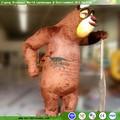 Vida- tamanho urso de pelúcia para o natal decoração