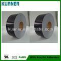 noir acrylique sensible à la pression adhésif t025bj