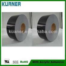 Black acrylic pressure sensitive adhesive