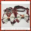 Luxury cutie dog bow tie collar