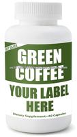 Green Coffee Bean Extract with GCA 800 mg 50% Chlorogenic Acid (60 Veggie Caps)