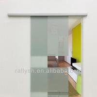 Aluminum sliding door handle and lock for glass door