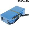 12V Li-ion Battery Rechargeable 9800mAh with EU or US plug for LED Strips