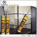 caucho de silicona / sellador acrílico polímero, a base de agua, tubos