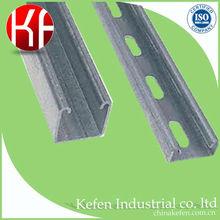 galvanized steel electrical strut channel in 41x21mm