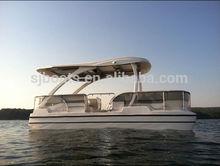 SANJ pontoon boat 2014 CE approved