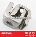 "3/8 "" universal adaptadores de ángulo para coaxial cable clamp"