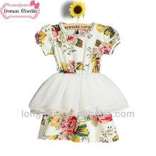 ชุดสาวดอกไม้ราคาถูกภายใต้30ชุดเด็กสไตล์ใหม่ชุดฤดูร้อนฝ้าย