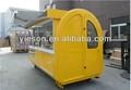 Yieson venta caliente móvil de restauración/nuevo carrito de comida/helado ys-325 carro