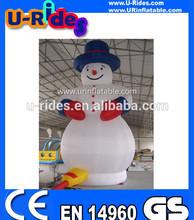 (Urides)Inflatable Snow Man,christmas Snow man cartoon