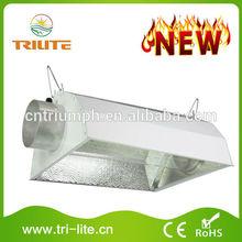 "8"" Air Cooled Reflector Glass Metal Lamp Shade"