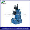 electric hydraulic flow control valve