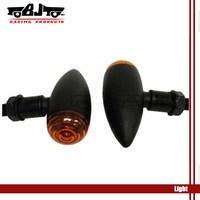 Motorcycle LED Rear Turn Signal light For Har&ley Black Bullet Mini Sportster Dyna Softail Bobber Chopper