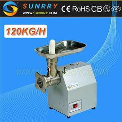 Meat chopper machine capacity 120kg/h mini meat chopper for CE electric meat chopper machine (SY-MM12B SUNRRY)